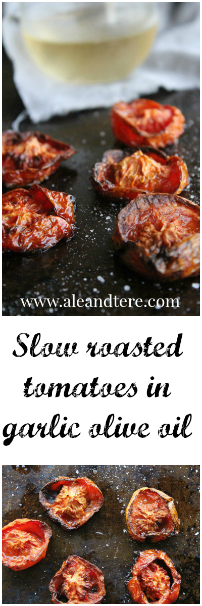 slow roasted tomato in olive oil