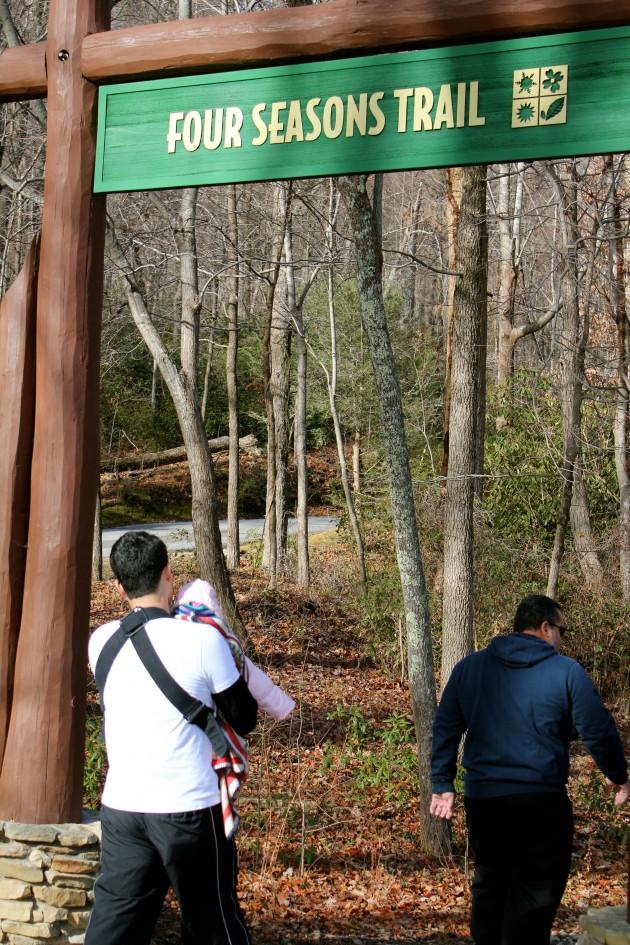 Florida Family a Travels to North Carolina's Chimney Rock