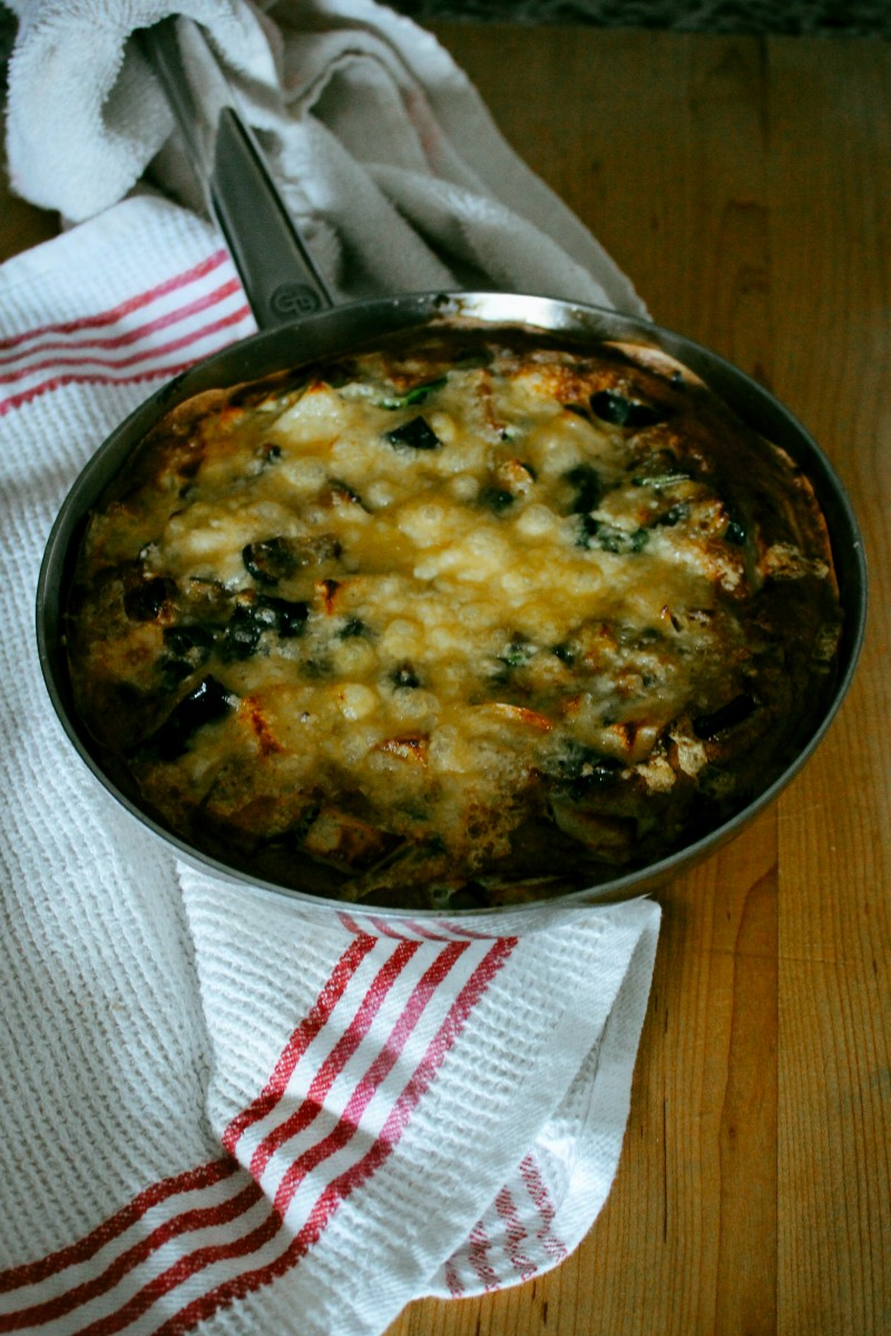 Acorn Squash and Apple Frittata recipe