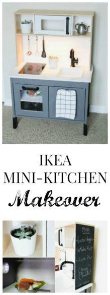 ikea mini kitchen makeover