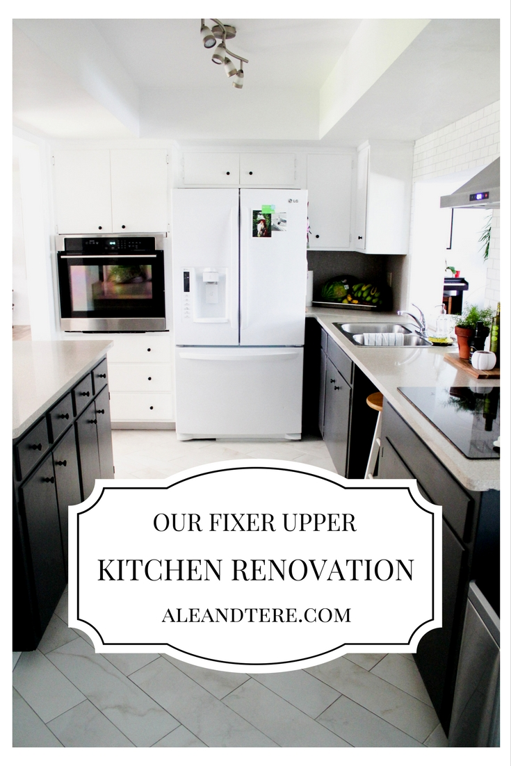 Our fixer upper kitchen renovation