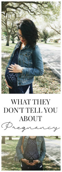what they don't tell you about pregnancy