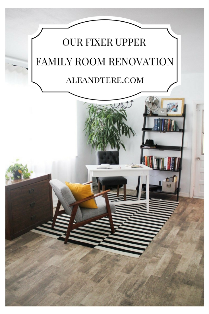 OUR FIXER UPPER | FAMILY ROOM RENOVATION