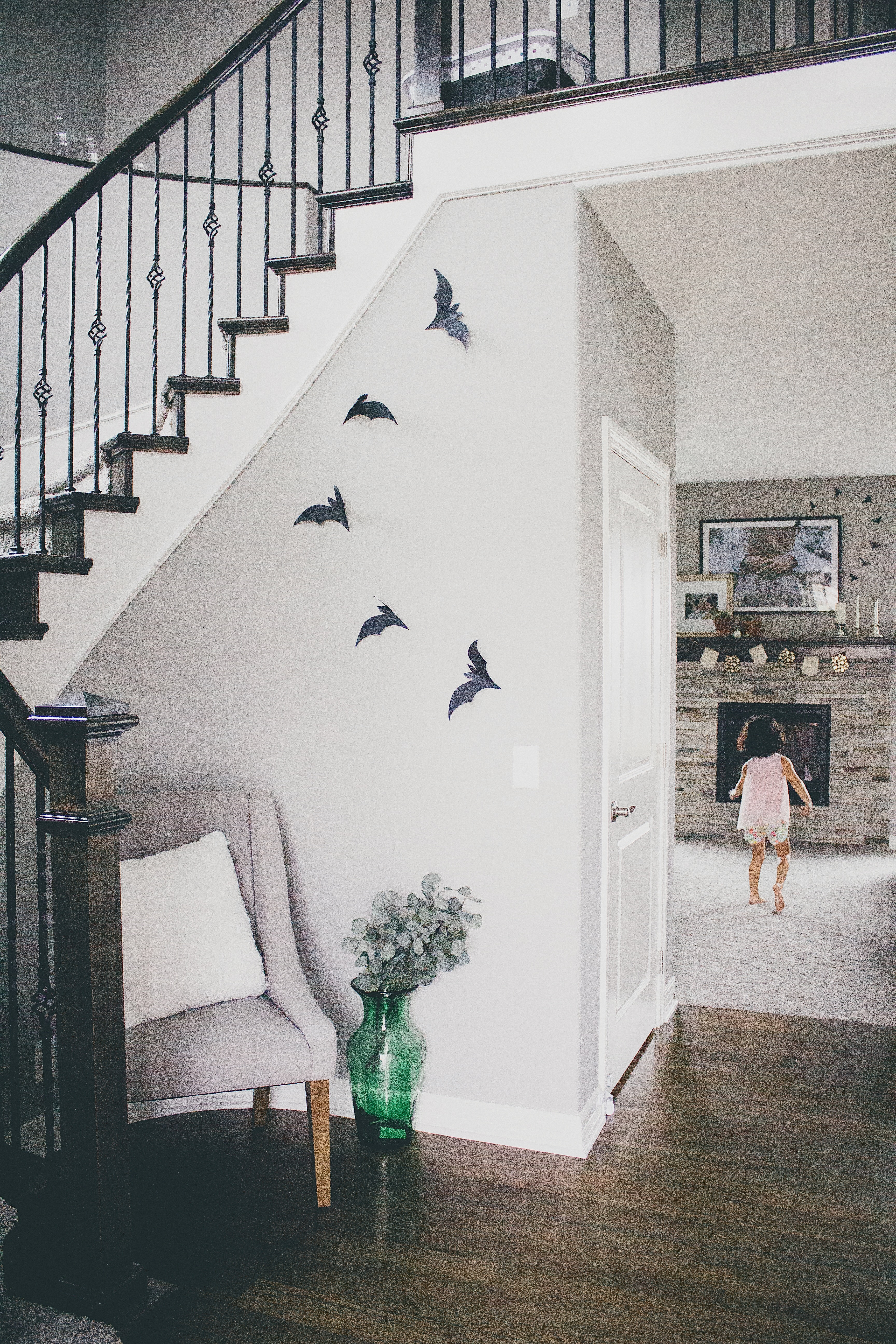 GETTING FESTIVE | DIY PAPER BATS - Ale & Tere | A lifestyle blog on residential spiral stairs, use stairs, one open side stairs, do it yourself stairs, construction stairs, home stairs, remodel stairs, floor plans with stairs, calculator stairs, outdoor stairs, make stairs, standard rise for stairs, winder stairs, water stairs, model stairs, design stairs, wooden stairs, building stairs, run stairs, basement stairs,