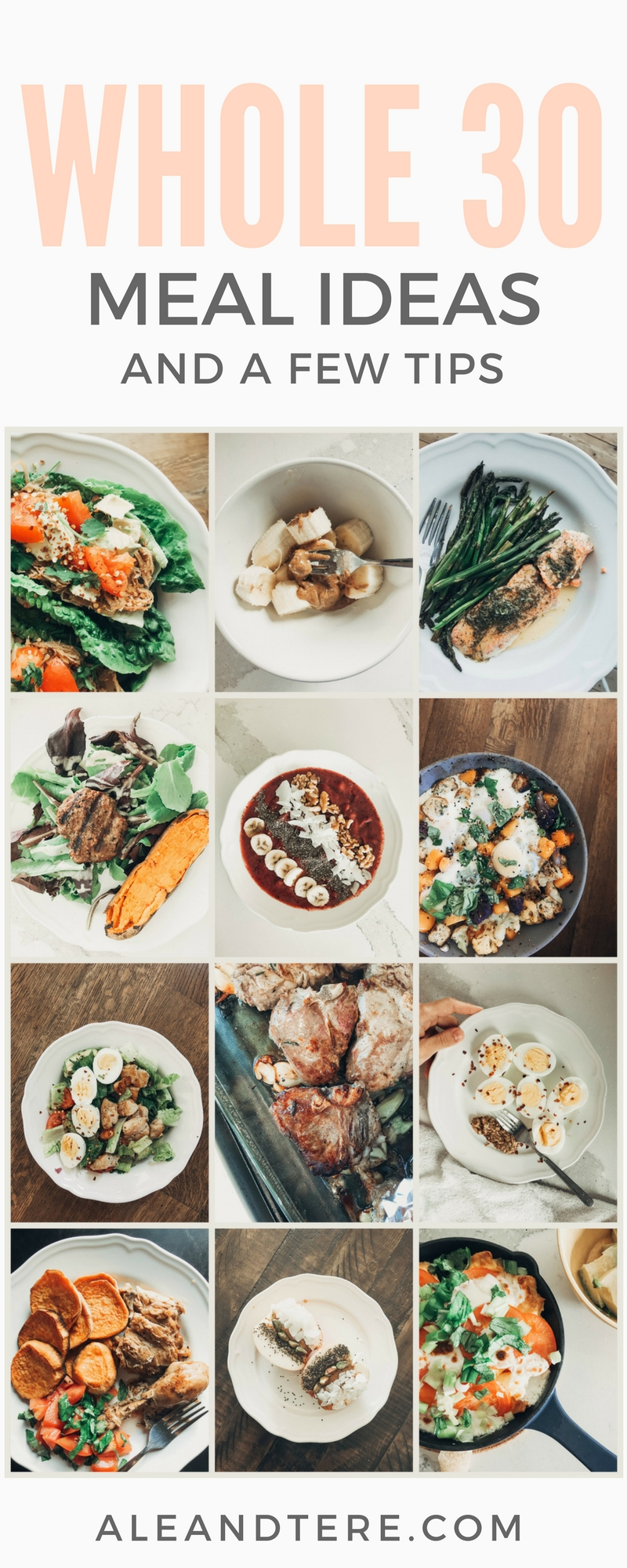 Whole 30 journey ale tere a lifestyle blog and follow along our instagram at withlovetere for more tips and videos to help you on your whole 30 journey forumfinder Image collections